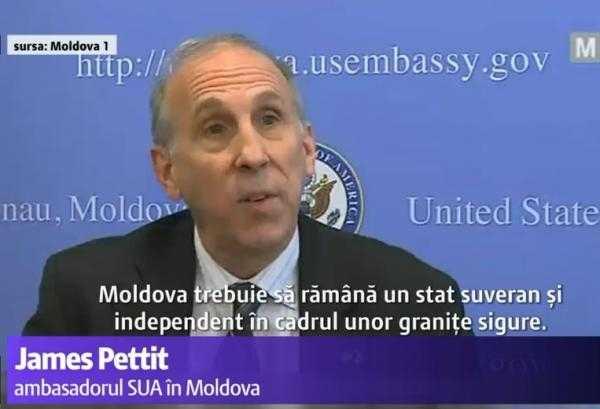 "Actualizare/ <i>""MOLDOVA NU E ROMÂNIA""</i>. Ambasadorul SUA din Chisinau reia TEZELE STALINISTE despre istoria, limba si poporul ""moldovenesc"". CE INTERESE ARE SUA IN BASARABIA?"