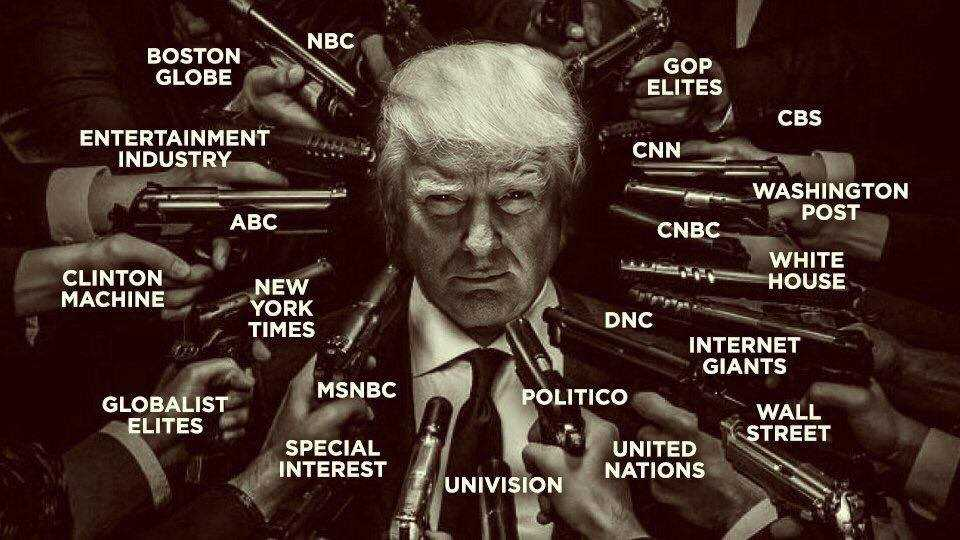"""IN INTERIORUL GUVERNULUI INVIZIBIL: RAZBOIUL, PROPAGANDA, CLINTON SI TRUMP: <i>""""Trump este detestat de catre cei in pozitii de putere in SUA din motive care nu au nimic de-a face cu opiniile si comportamentul sau respingator""""</i>"""