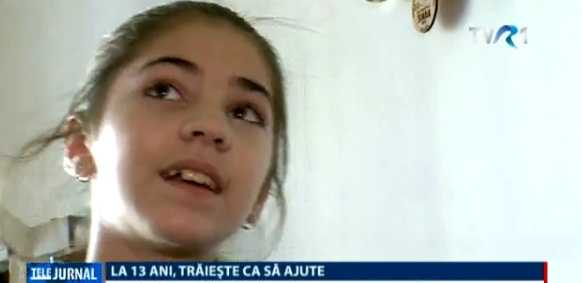 POVESTEA ALEXUȚEI, fetita de 13 ani implicata in numeroase acte de voluntariat umanitar. Acum, propria sa familie se afla in dificultate, dupa ce tatal sau a murit in mod tragic