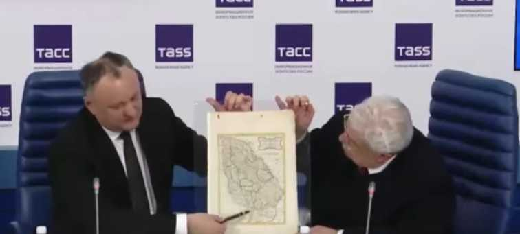 Eveniment grav: PUTIN A DARUIT PRESEDINTELUI PRO-RUS IGOR DODON HARTA MOLDOVEI MARI. Presedintele rus a insistat pentru reluarea planului de FEDERALIZARE a MOLDOVEI