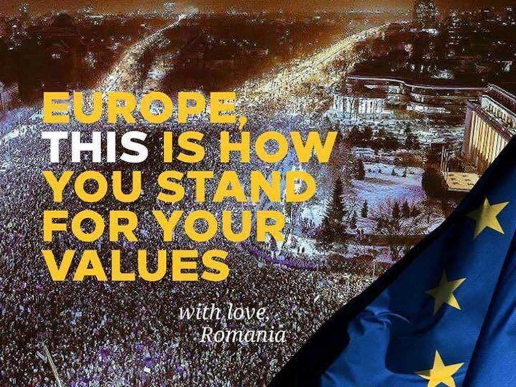 """EXPERIMENTUL """"REVOLUTIEI LUMINII"""" SAU RELEGITIMAREA STATUS-QUO-ULUI NEOLIBERAL SI EURO-ATLANTIC/ România – supusa strategiei tensionarii de catre structurile statului profund"""