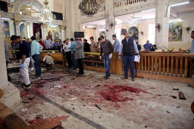 ATENTATE ANTICRESTINE IN EGIPT DE FLORII. Zeci de morti si de raniti in urma atacurilor revendicate de STATUL ISLAMIC (Video)