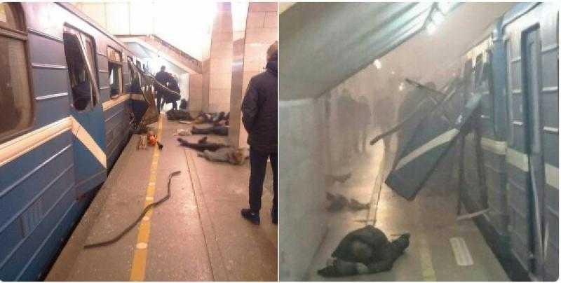 EXPLOZIE LA METROUL DIN SANKT PETERSBURG. 10 morti si zeci de raniti. Procurorul general afirma ca este un ATAC TERORIST (Video)