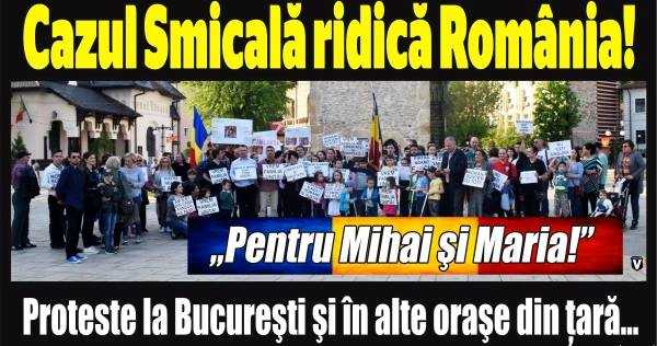 PROTESTE PENTRU SALVAREA COPIILOR CAMELIEI SMICALA. Demonstratiile vor avea loc la București, Timișoara, Cluj Napoca, Brașov, Iași și Constanța
