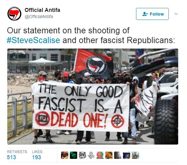 """ATAC ARMAT IN SUA. Roadele climatului isteric al """"REZISTENTEI"""" anti-Trump. Cativa politicieni REPUBLICANI de rang inalt au fost MITRALIATI de un MILITANT DEMOCRAT. Ce ne spune acest incident?"""