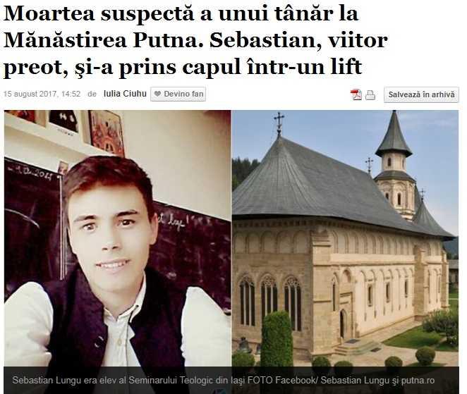 Cum au fabricat jurnalistii de la ADEVARUL inca un scandal impotriva BISERICII dupa un accident tragic la MANASTIREA PUTNA