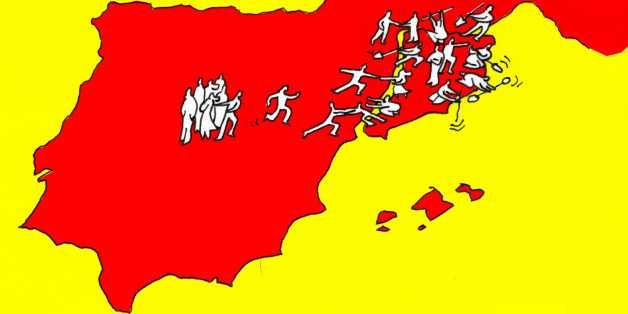 Editorial in Le Figaro. SINDROMUL CATALONIA sau cum incep sa se vada &#8220;roadele&#8221; UNIUNII EUROPENE. <i>Unii au deja un nume pentru ceea ce se apropie cu paşi mari: Războiul Civil</i>
