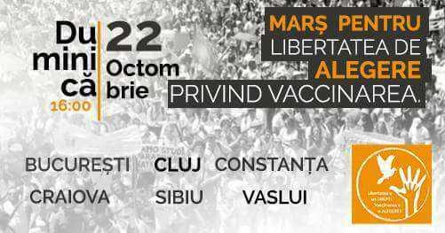 PROTESTE IMPOTRIVA VACCINARII OBLIGATORII. In Bucuresti, s-a incercat, din nou, modificarea traseului