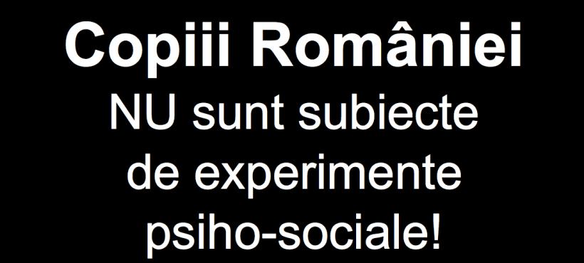 Coalitia pentru Familie si Platforma Impreuna denunta un program DE PROMOVARE SISTEMATICA A HOMOSEXUALITATII in scolile românești, concomitent cu ANIHILAREA DREPTURILOR PARINTESTI