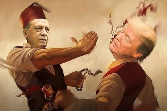 Palma otomana. TURCIA IN OFENSIVA IN SIRIA SI FATA DE GRECIA/ Conflict complex in Siria, implicand Israelul, Iranul, Rusia si SUA