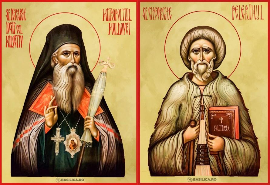 """Proclamarea solemnă a CANONIZĂRII SFÂNTULUI IERARH IOSIF NANIESCU, """"CEL MILOSTIV"""", Mitropolitul Moldovei, și a SFÂNTULUI GHEORGHE LAZĂR, """"PELERINUL"""""""