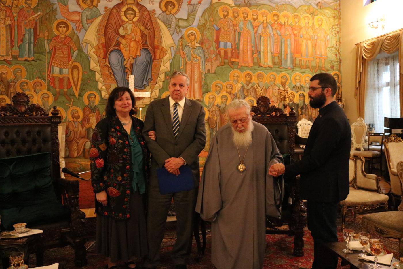 """AMBASADORUL SUA in GEORGIA, elogios despre ortodoxia georgiana: <i>""""Biserica a fost puterea care a salvat țara în perioadele de criză&#8221;</i>/ O VESTE BUNA: RESTAURAREA STATUTULUI OREI DE RELIGIE/ Nouă sfinți români în calendarul Rusiei/ BISERICA SERBIEI si-a modificat statutul. Una din mize: KOSOVO"""