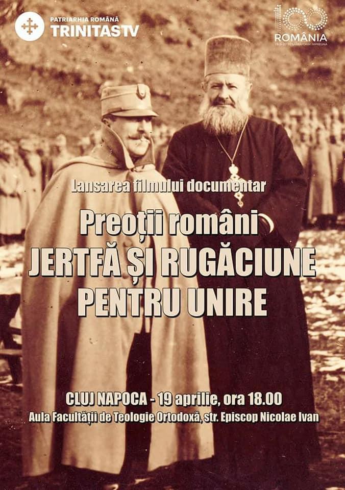 """<i>""""Preoții români. Jertfă și rugăciune pentru Unire""""</i> (DOCUMENTAR TRINITAS TV – VIDEO)"""