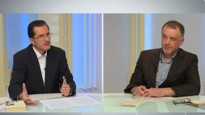 SORIN LAVRIC – dialoguri cu VASILE BĂNESCU la TRINITAS TV – despre CORECTITUDINEA POLITICĂ, TIRANIA ideologică ANTICREȘTINĂ și anti-tradiție, FALSELE VALORI, destrămarea identitară, PLANUL INVAZIEI REFUGIAȚILOR ISLAMIȘTI și SUPRA-STATUL FEDERAL EUROPEAN (video și text)