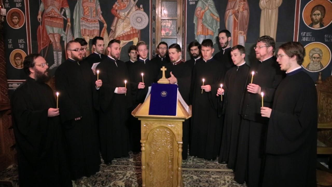 CÂNTĂRILE ÎNVIERII cu grupurile psaltice ANASTASIOS și TRYSAGHION. <i>&#8220;Ziua Învierii, să ne luminăm&#8230; Paștile Domnului, Paștile!&#8221;</i>