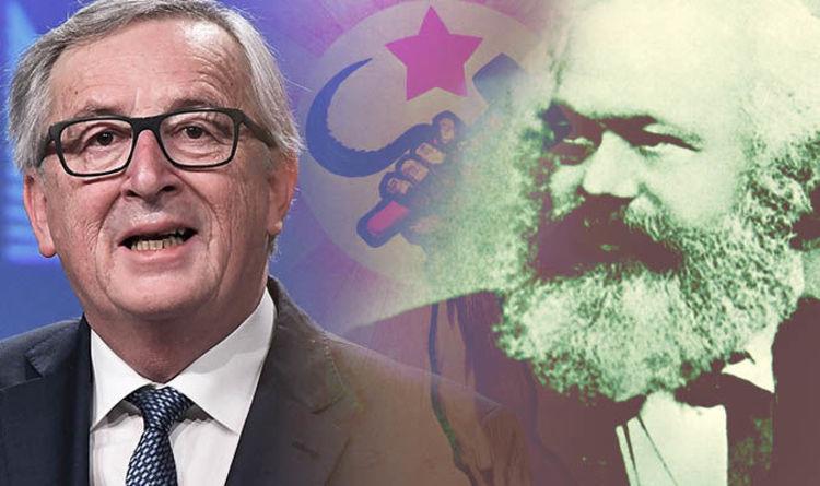 """""""VALORI EUROPENE"""". Junker, presedintele Comisiei Europene, participa la comemorarea lui KARL MARX. Evenimentele vor avea loc la Trier, cu ocazia a 200 de ani de la nasterea co-autorului MANIFESTULUI COMUNIST"""