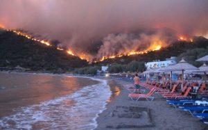 INCENDII CATASTROFALE IN GRECIA