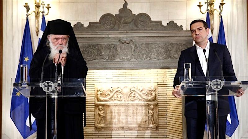 """Ce fel de """"ACORD ISTORIC"""" s-a incheiat in Grecia? Preotii nu mai sunt FUNCTIONARI PUBLICI, dar statul va continua subventionarea Bisericii, iar referirile crestine raman in Constitutie"""