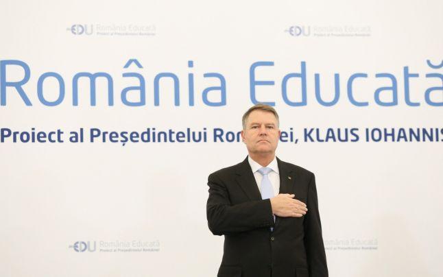 """IOHANNIS LANSEAZA """"ROMÂNIA EDUCATĂ"""", asa-zisul sau proiect de tara. O suma de clisee si de idei preluate de la reteaua ONG-urilor progresist-globaliste. Proiectul contine referiri la EDUCATIA PARENTALA si VACCINAREA OBLIGATORIE"""