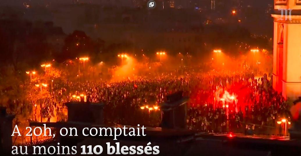 """REVOLUTIA VESTELOR GALBENE (Video). Violente la Paris, unde au loc confruntari dure intre protestatari si fortele de ordine. De ce nu e posibil un MAIDAN sau """"macar"""" un 10 august in Franta?"""