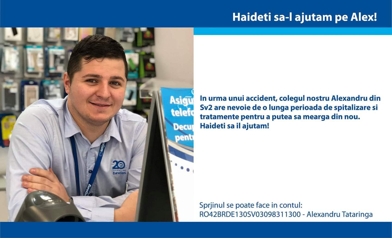 APEL DE AJUTOR pentru un tanar imobilizat din Suceava