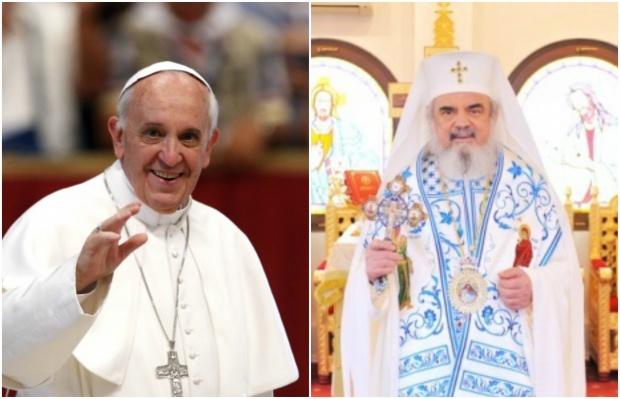 PAPA FRANCISC VA VIZITA CATEDRALA NAȚIONALĂ. Cum va fi primit de Patriarhia Română?