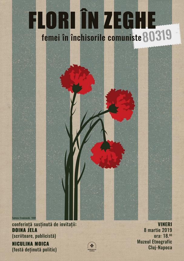 """Trei evenimente pentru Memorialul Gherla. Conferința """"Flori în zeghe – Femei în închisorile comuniste"""""""