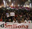 Proteste la Belgrad impotriva presedintelui Vucic, cauzate de un prezumtiv schimb de teritorii intre Serbia si Kosovo. Fiul lui Soros ar fi implicat