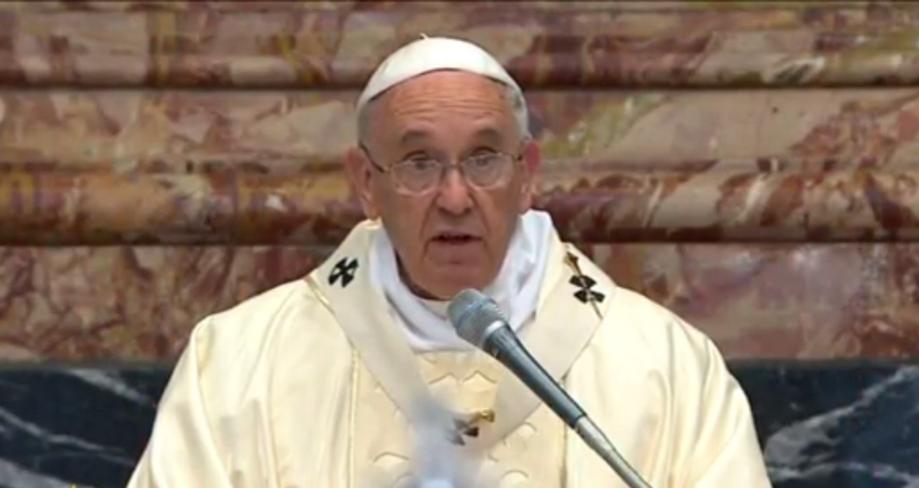 Papa Francisc: Biserica trebuie sa invete sa RENUNTE la vechile TRADITII si la dorinta de CLARITATE