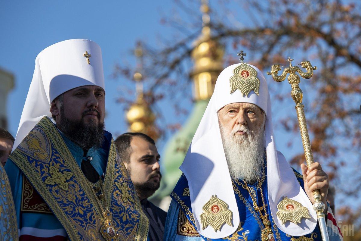 """""""SEPARATIE si DIARHIE"""" in Biserica Ortodoxa a Ucrainei. DISENSIUNI puternice intre """"patriarhul onorific"""" FILARET si Epifanie, primatul noii structuri ecleziastice din Ucraina/ Arhiepiscopul Hrisostom al Ciprului despre posibilitatea ca Biserica Greciei sa recunoasca BOU: """"PUTEM AJUNGE LA O SCHISMA!"""""""