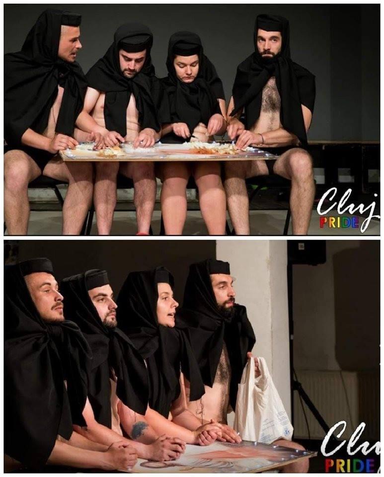 """PATRIARHIA ROMÂNĂ despre teatrul blasfemic de la Cluj Pride: <i>""""act de propagandă ideologică anticreștină""""</i>/ Ce este ideologia QUEER, girata de Guvern si ICR?/ DAN BARNA, liderul USR, este dispus sa voteze pentru CASATORIILE HOMOSEXUALE (Video)"""