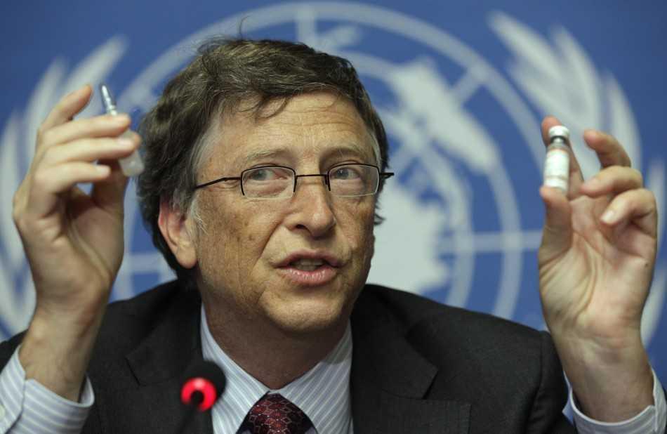 "Bill Gates, ""filantropia"" VACCINARILOR si ""dumnezeul"" sau cu iz masonic"