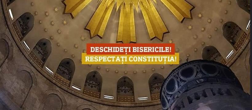 """APELURI LA DESCHIDEREA BISERICILOR si RESPECTAREA LIBERTATII RELIGIOASE. Vasile Bănescu: <i>""""Biserica Ortodoxă Română va face demersuri firești și riguros argumentate pentru a găsi căile raționale de întoarcere graduală, precaută, dar grabnică, la starea de normalitate""""</i>"""