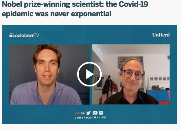 MICHAEL LEVITT, profesor de biologie la Stanford și premiat Nobel: <i>Măsurile de izolare socială NEDIFERENȚIATE sunt o GREȘEALĂ IMENSĂ. Răul făcut de închidere va depăși CU MULT orice salvare de vieți</i> (Video)