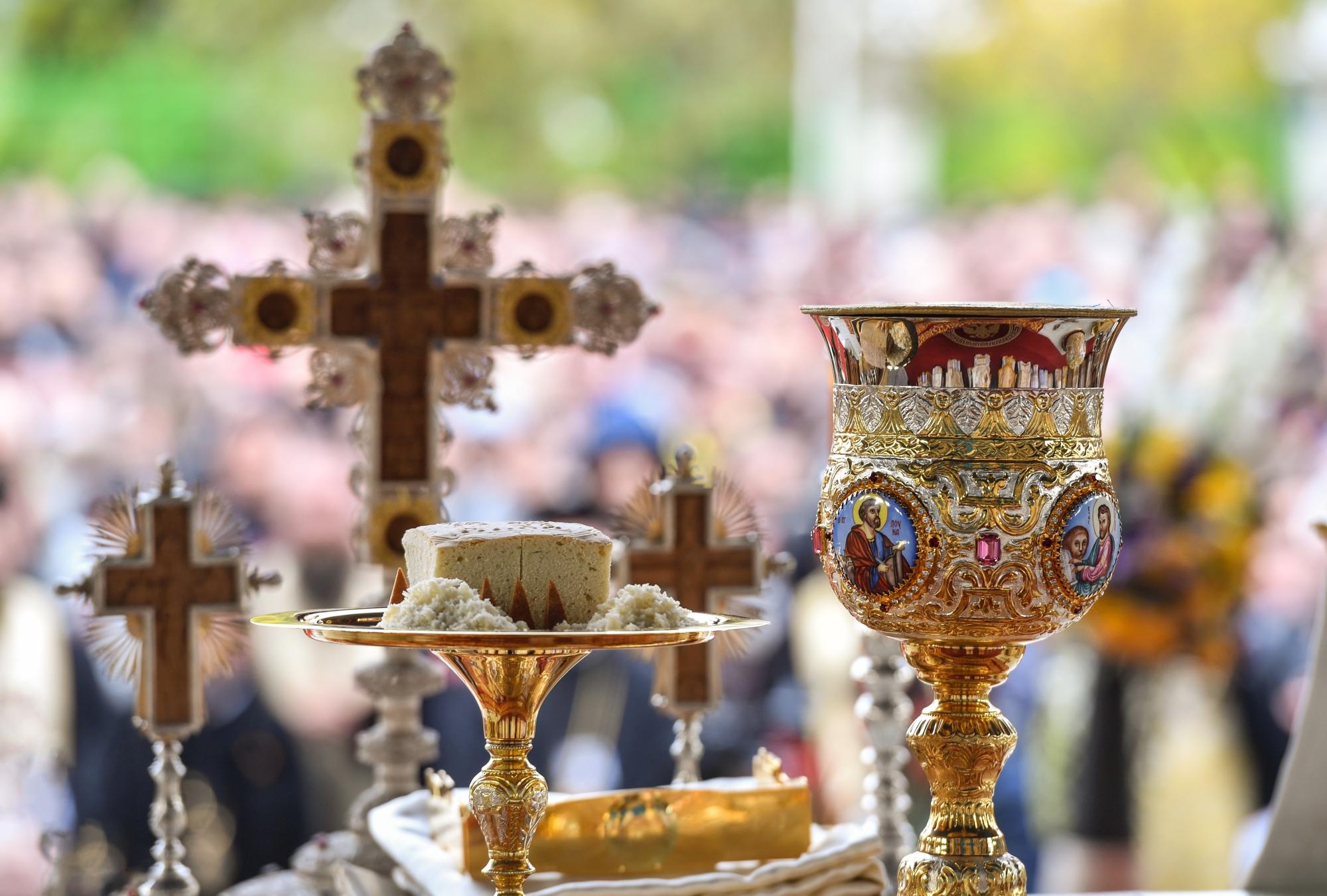 """Deschiderea bisericilor – cu ce pret? """"AMANAREA"""" IMPARTASIRII CREDINCIOSILOR la Sfanta Liturghie – DOAR O MASURA TEMPORARA sau INCEPUTUL CELEI MAI GRAVE CAPITULARI in fata abuzului autoritatilor, in numele """"ratiunii practice""""?! <i>""""Biserica este Euharistie, este Potir""""</i> – DE CE ACCEPTAM SANTAJUL STATULUI si ne multumim cu firimiturile pe care ni le arunca? <i>""""Tot delirul asta e la inceput si va urma un razboi aproape inevitabil""""</i>"""