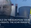 Centrul European pentru Lege și Justiție: CUM CONTROLEAZĂ SOROS CEDO. Cel mai controversat judecător-activist, avansat la poziția de președinte de secție
