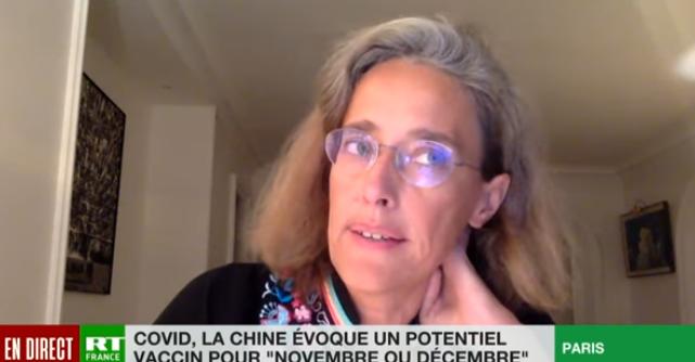 """Geneticiana ALEXANDRA HENRION-CAUDE despre înăsprirea restricțiilor, măști și vaccin. <i>""""Văd o DISPROPORȚIE între starea lucrurilor, starea cifrelor, gradul de pericol sanitar, și ceea ce suntem puși să trăim""""</i> (VIDEO)"""