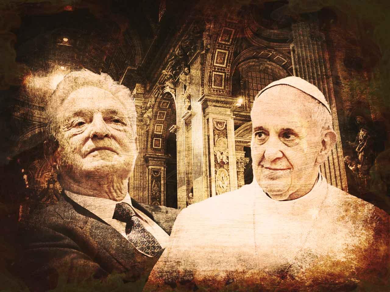 """Cardinalul Vigano: Statul Profund se aliază cu BISERICA SUBTERANĂ pentru a transforma Vaticanul în ARMA SPIRITUALĂ a NOII ORDINI MONDIALE. Clericul catolic acuză iezuiții americani pentru finanțările primite de la SOROS/ """"Filantropul"""" susține o coaliție largă de organizații activiste pregătite să declanșeze """"REZISTENȚA"""" după alegerile prezidențiale din SUA"""