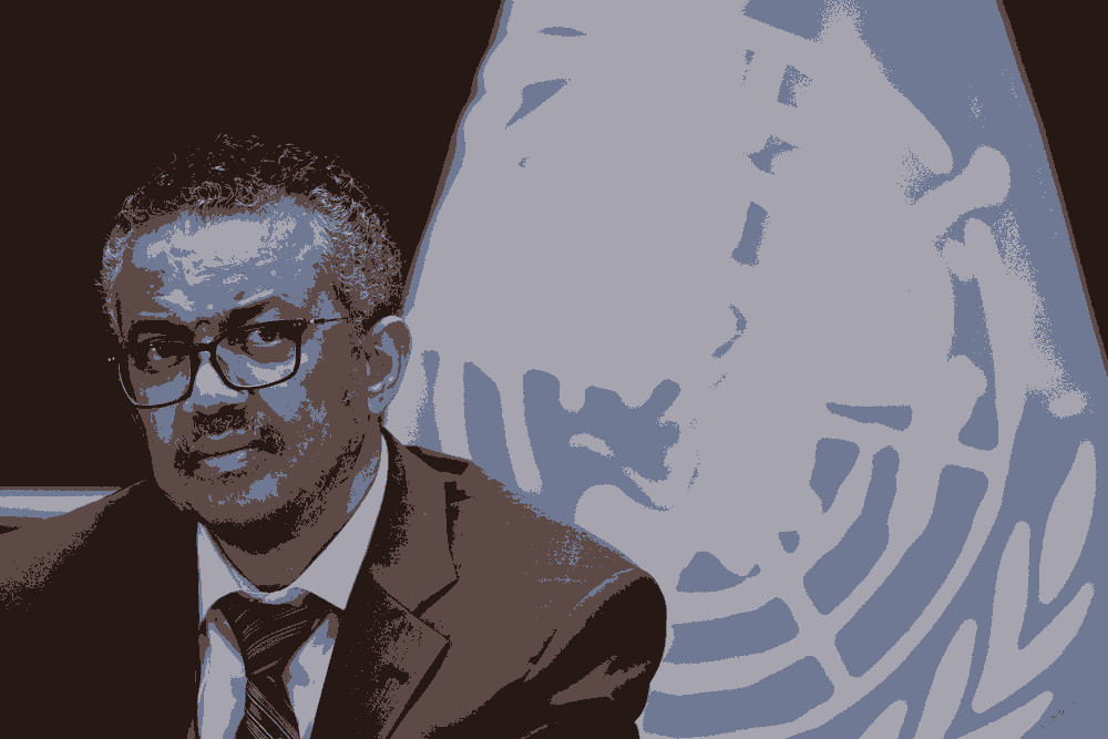 """SĂ-L CUNOAȘTEM PE TEDROS. Adhanom Ghebreyesus Tedros, directorul general al OMS, ale cărui recomandări sunt urmate cu …""""sfințenie"""" și în România. Susținut de China și de vacciniștii lui Bill Gates, acuzat de mușamalizarea unei epidemii reale și grave de holeră în Etiopia, șeful OMS promovează în continuare CARANTINAREA, în ciuda gravelor încălcări ale drepturilor omului și ale efectelor """"colaterale"""""""