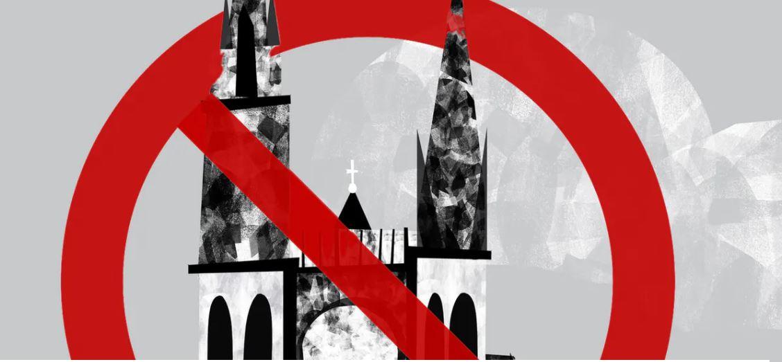 O întrebare esențială: DE CE NU OBIECTEAZĂ BISERICILE față de noua DICTATURĂ a FRICII și a limitărilor puse LIBERTĂȚII RELIGIOASE? Nici în Marea Britanie, nici în Franța, bisericile românești NU S-AU IMPLICAT în bătălia pentru libertatea de cult