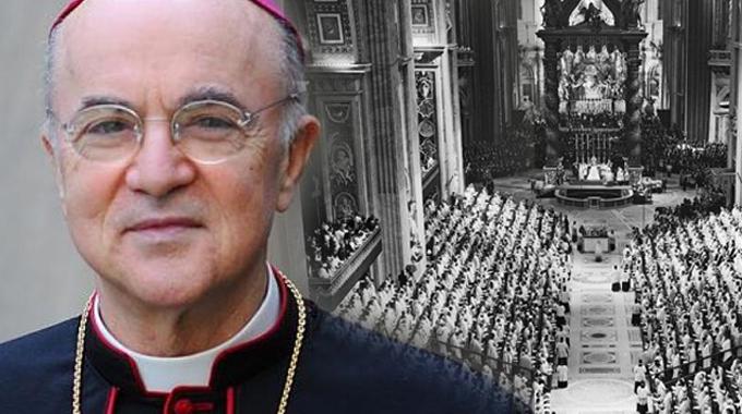 Arhiepiscopul catolic Carlo Maria Viganò despre cum a ajuns (ANTI)BISERICA CATOLICĂ a Papei Francisc să fie slujitoarea NOII ORDINI MONDIALE.  Despre revoluția Conciliului II Vatican, religia deschisă și noul umanism consonant cu ideile francmasonice