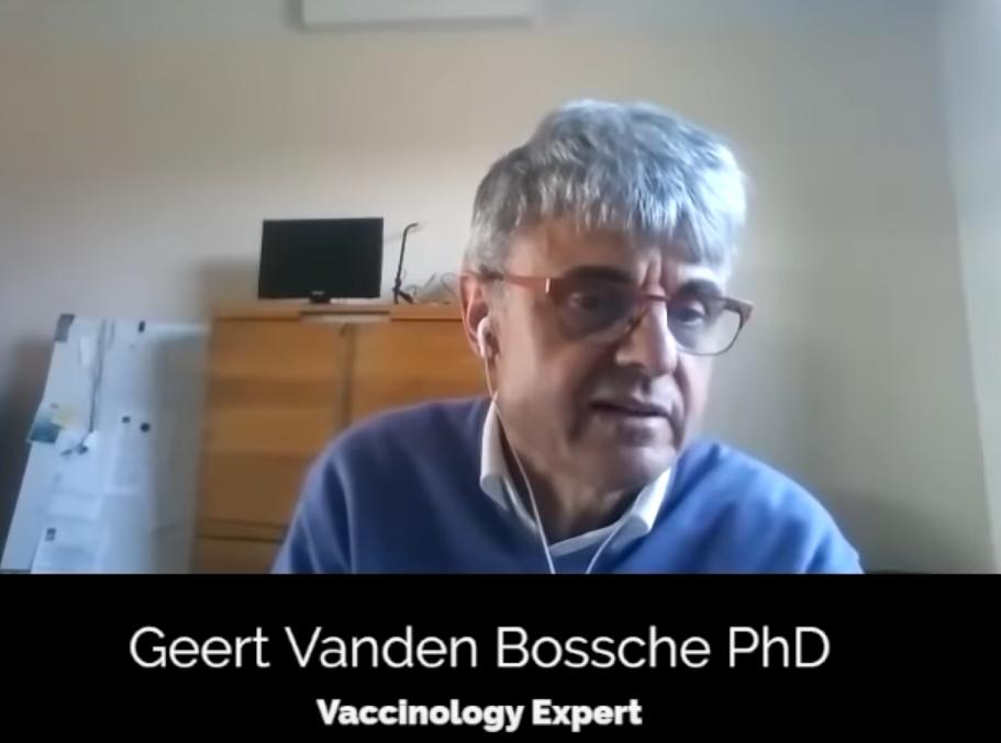 """GEERT VANDER BOSCHE, virusolog și expert in vaccinuri belgian, ex-coordonator al programului de vaccinare Ebola: """"<i>DACĂ NU OPRIM VACCINAREA ÎN MASĂ VA FI UN DEZASTRU! Vaccinurile au scop profilactic, o spune orice manual de vaccinologie: nu inoculezi populația în timp ce este expusă unei presiuni infecțioase severe!</i> CEL MAI DRAMATIC LUCRU AR FI CA PERSOANELE TINERE SĂ SE VACCINEZE!"""""""
