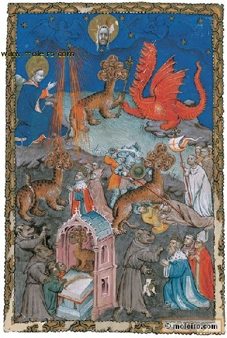 flemish-apocalypse-f-14r-the-dragon-the-seven-headed-beast-from-the-sea-and-the-false-prophet-facsimile_book-685.jpg