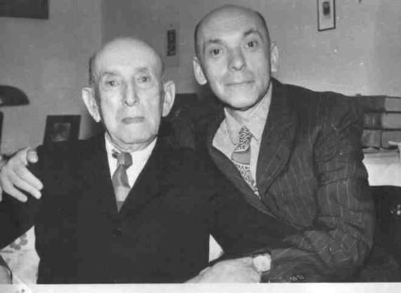 Nicu Steinhardt cu tatal sau,Oscar.jpg