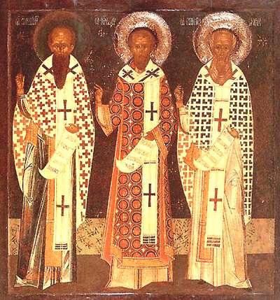 Sfintii Trei Ierarhi si PRIETENIA DUHOVNICEASCA