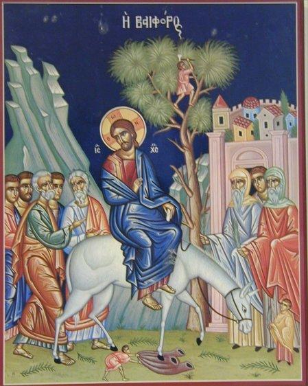 "<b>Intrarea Domnului in Ierusalim</b> – ""INCEPUTUL CRUCII"""