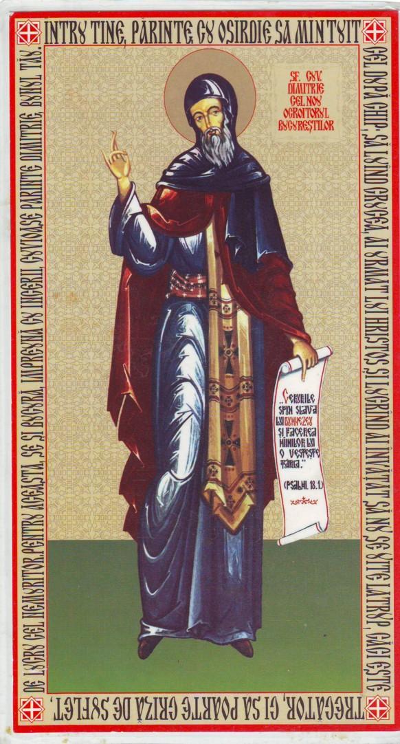 Cuviosul Dimitrie cel Nou, SFANTUL GINGASIEI SI AL SENSIBILITATII DUHOVNICESTI