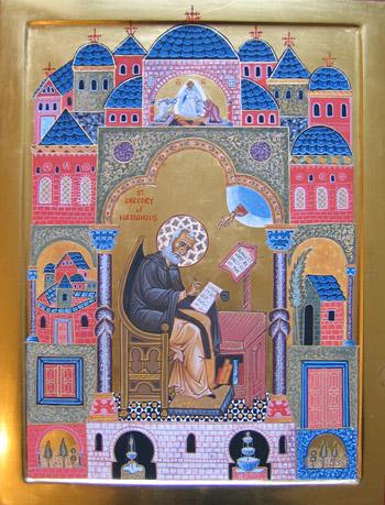 Sfantul Mare Ierarh Grigorie Teologul: <i>Fa-te dumnezeu pentru cel lovit de saracie</i>