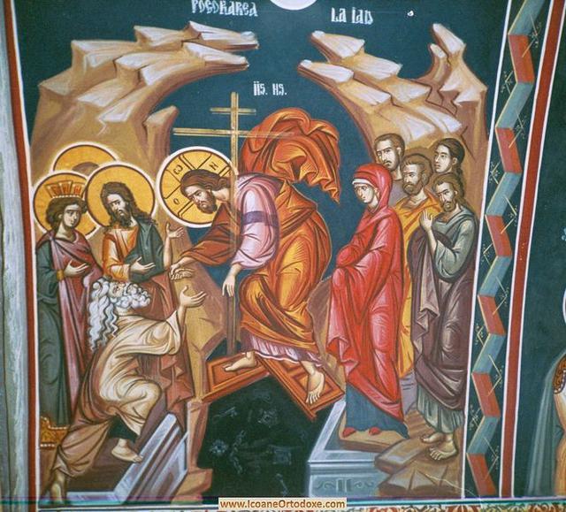 Trebuie sa ne pogoram si noi la iad cu Hristos? Cum putem face asta?