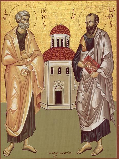 Sfintii Apostoli Petru si Pavel, PĂSTORII ADEVARATI AI CRESTINILOR DIN VREMURILE DIN URMA